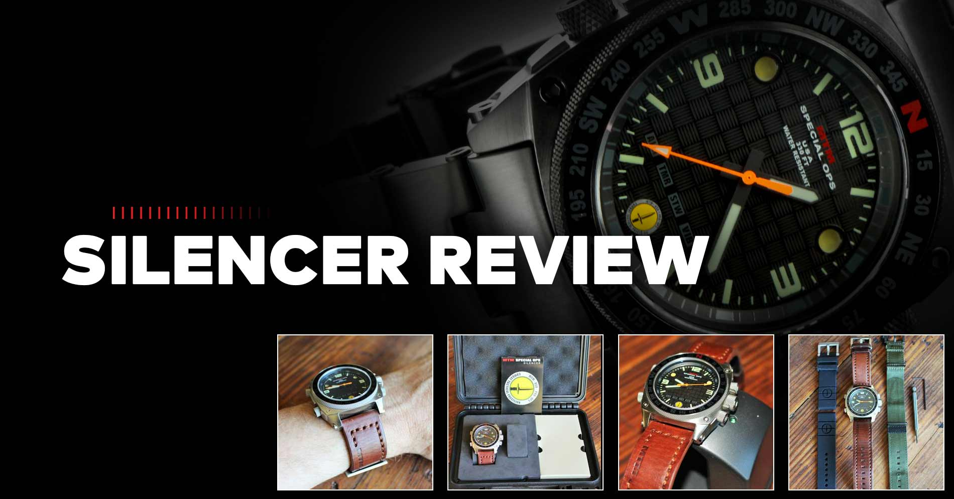 MTM Silencer Watch Review