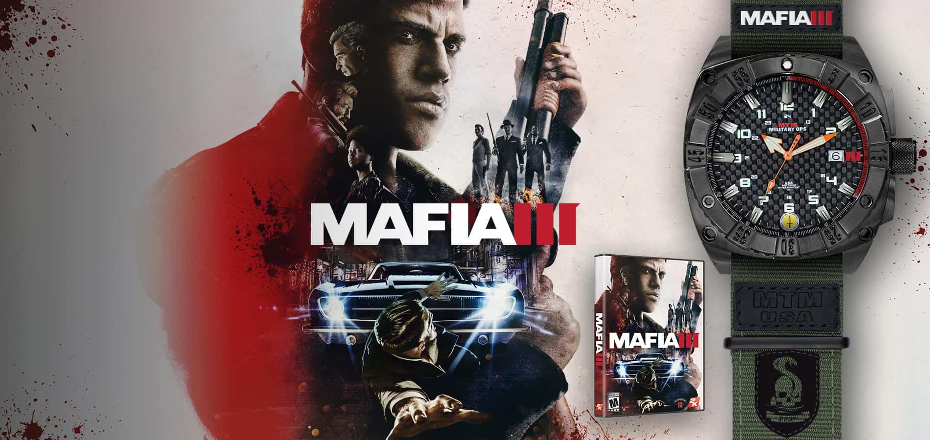 MAFIA 3 MTM Watch Promotion