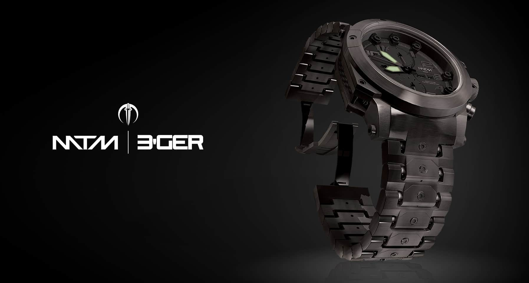 MTM 3-GER Watch