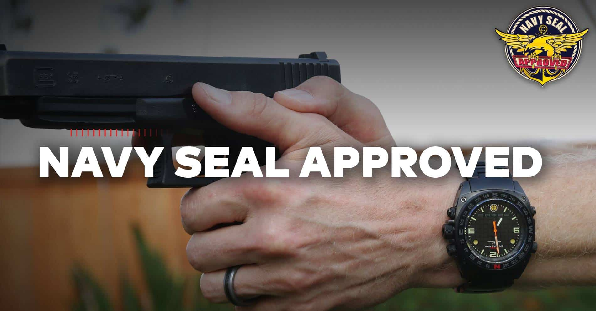 Chris Sajnog MTM Silencer Watch Navy SEAL Approved