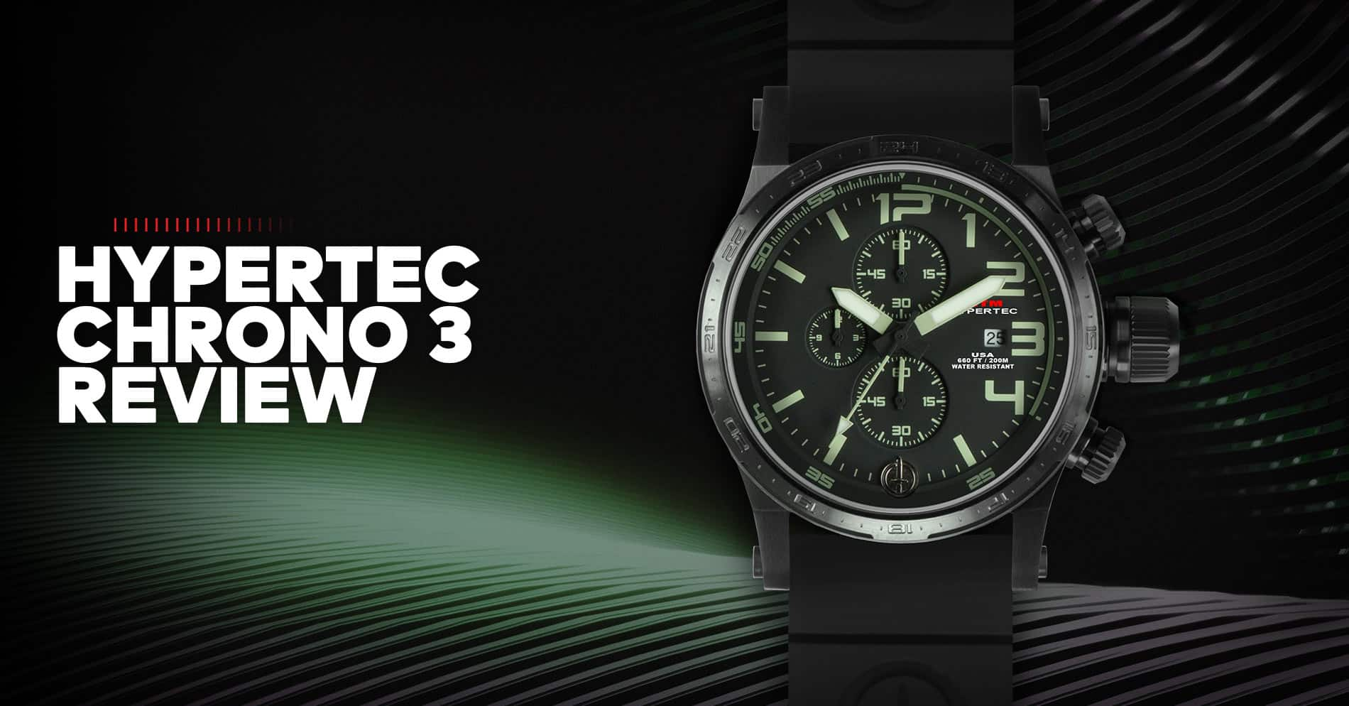 MTM Hypertec Chrono 3 Military Chronograph Watch