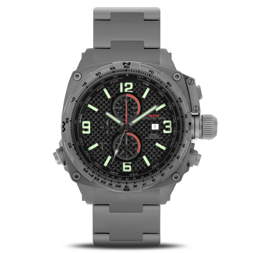 Cobra-Grey-Carbon-Lumi-Dial-Tit-Band
